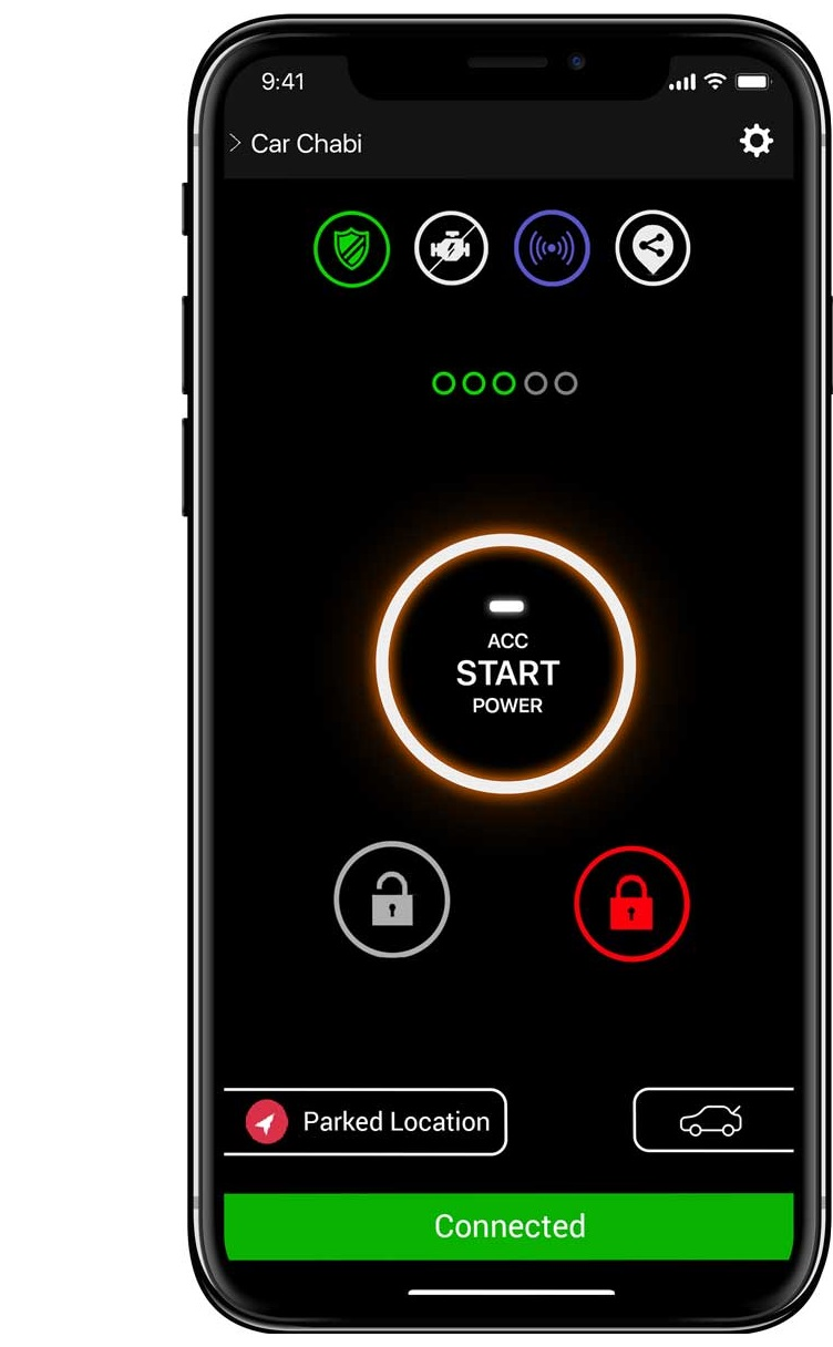 Car Chabi Car Key Remote In Smartphone Application