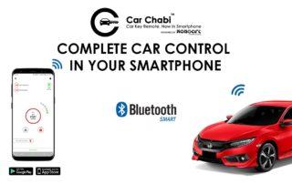 car key remote smartphone