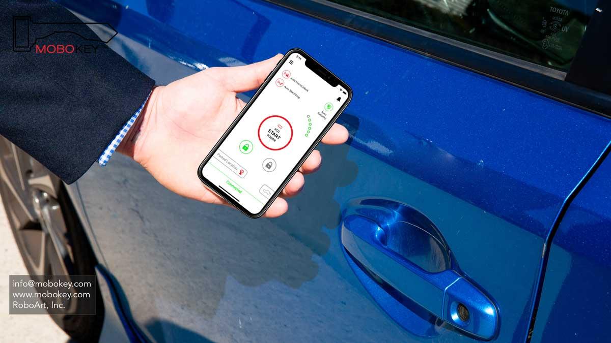 car control smartphone