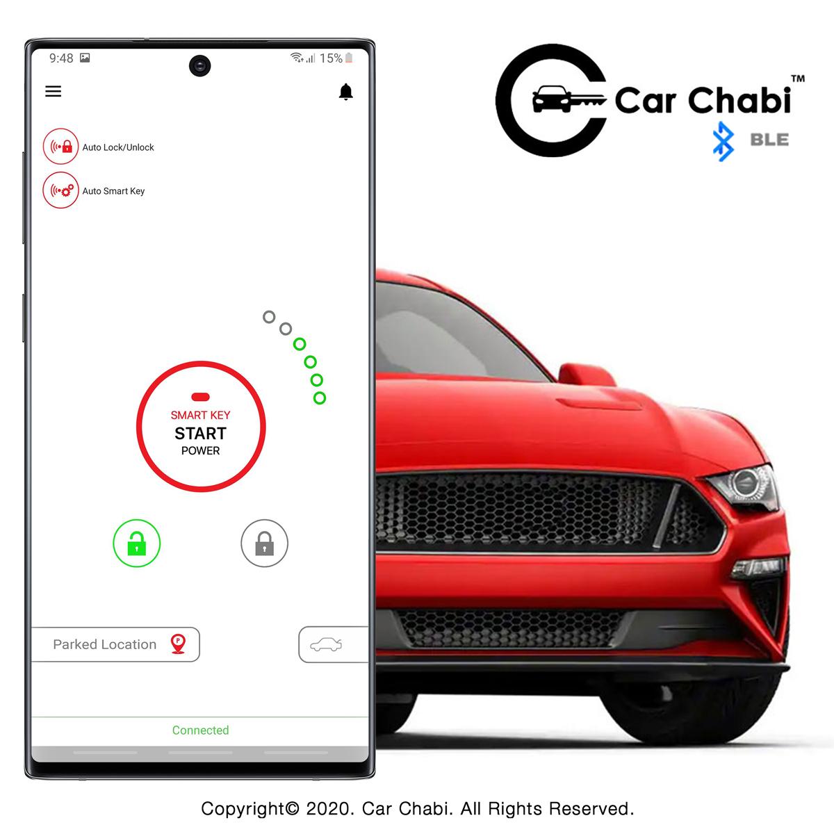 Car Chabi Car Key Remote In Smartphone Application